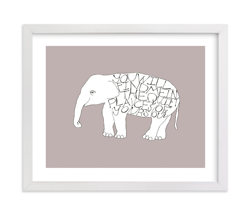 """""""Quiet Places"""" - Limited Edition Art Print by Annada Hypes in beautiful frame options and a variety of sizes."""