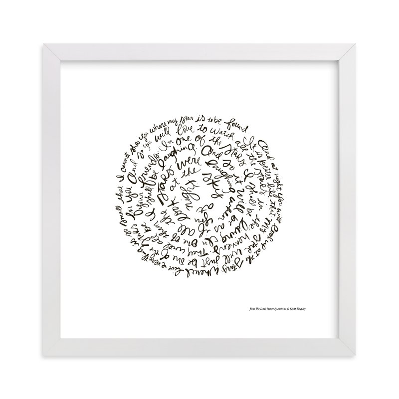 """""""Little Prince"""" - Limited Edition Art Print by Dean Street in beautiful frame options and a variety of sizes."""