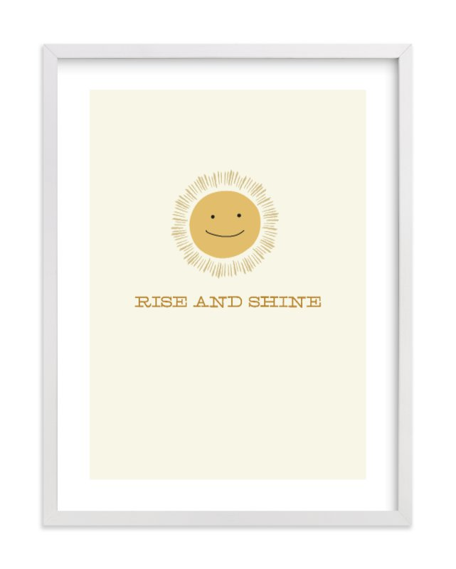 """""""Rise and Shine"""" - Limited Edition Art Print by Laura Condouris in beautiful frame options and a variety of sizes."""
