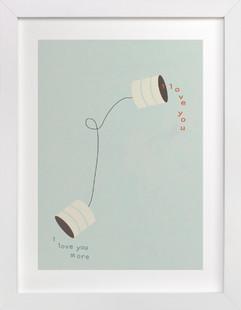 Canned Love Children's Art Print