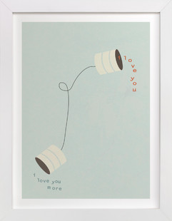 Canned Love Children's Art Print