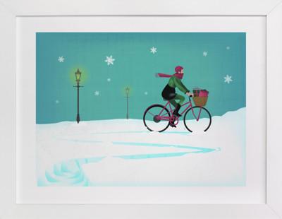 all seasons Children's Art Print