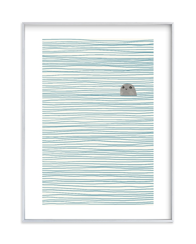 Seal Children's Art Print