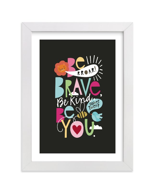 """Rules to live by"" - Limited Edition Art Print by Alethea and Ruth in beautiful frame options and a variety of sizes."