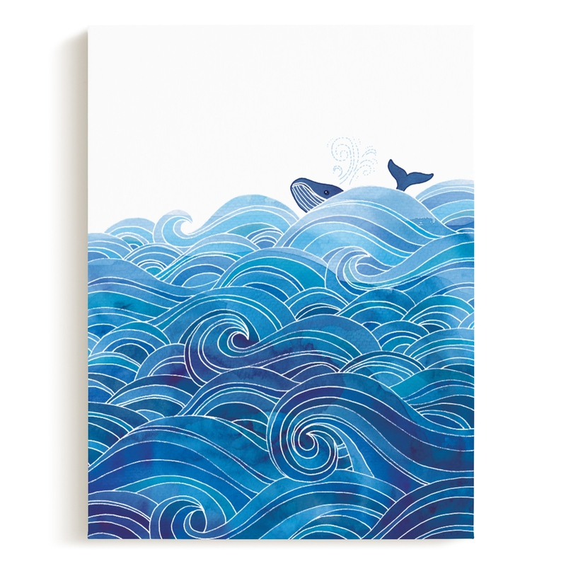 seas the day Children's Art Print