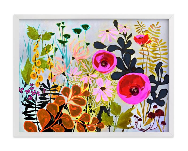 How Does Your Garden Grow? Children's Art Print
