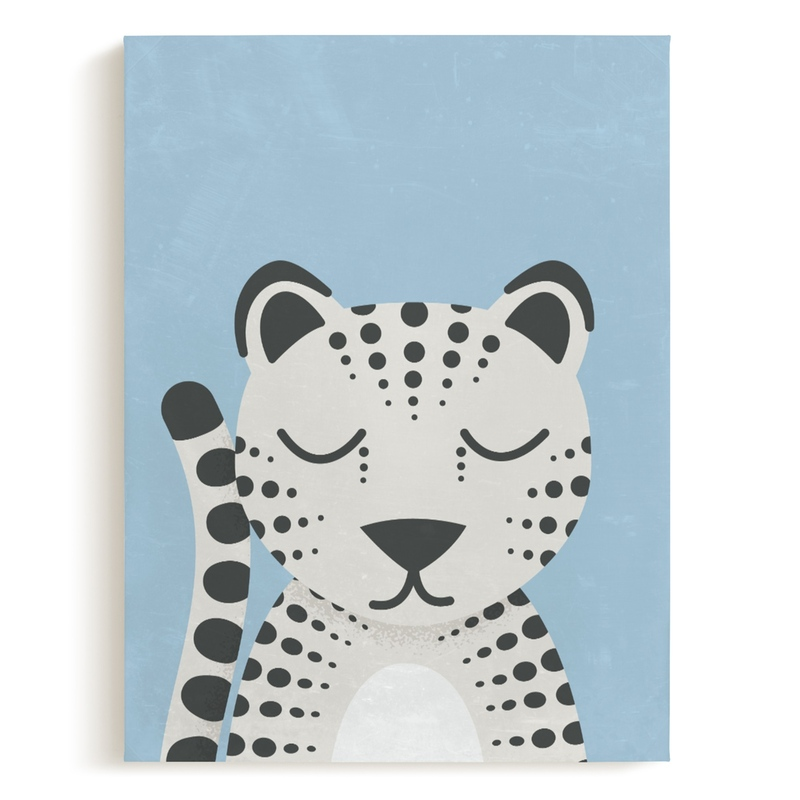 Snow Leopard Children's Art Print