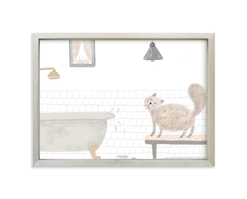 """I think not"" - Limited Edition Art Print by Maja Cunningham in beautiful frame options and a variety of sizes."