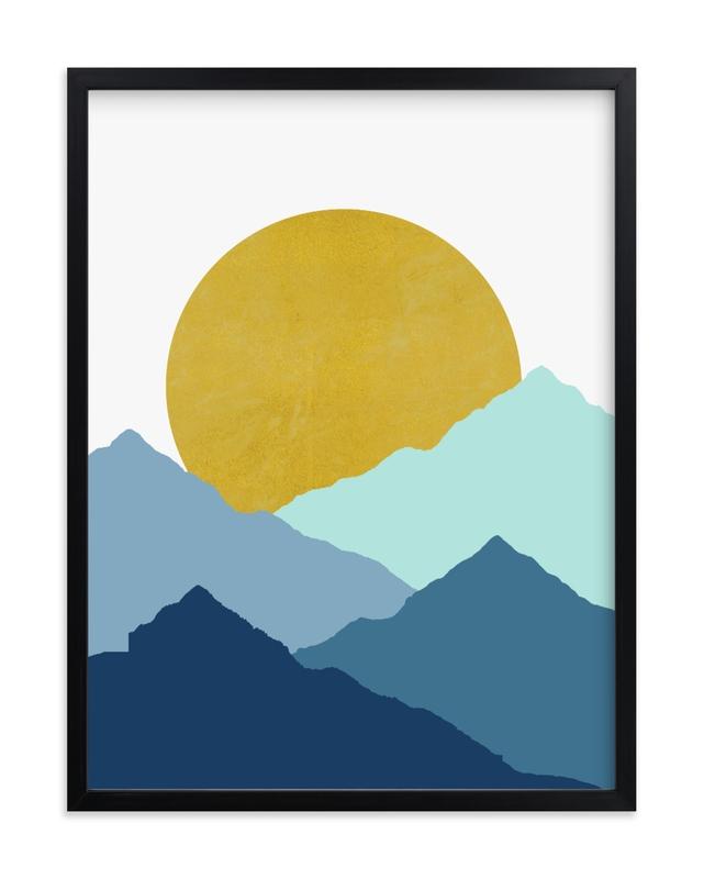 Mountain Love Children's Art Print