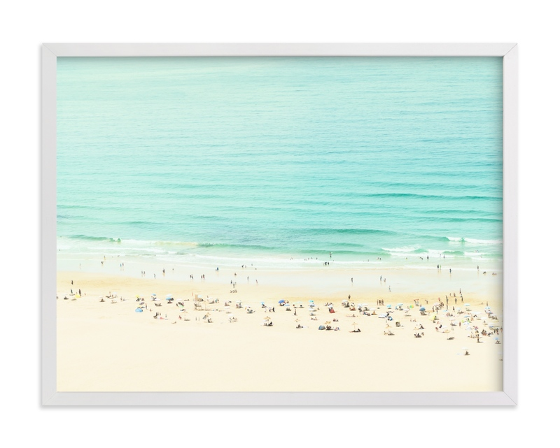 Remembering a day by the Sea Children's Art Print