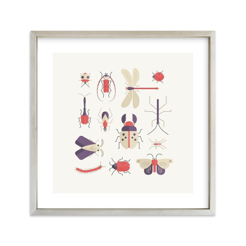 """""""Bugs Squared"""" - Limited Edition Art Print by Dawn Jasper in beautiful frame options and a variety of sizes."""