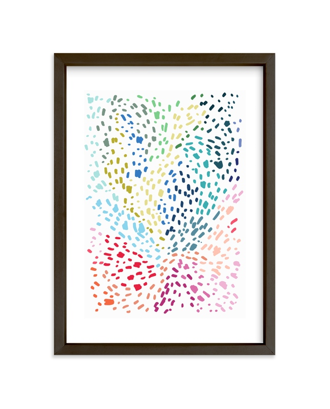 """""""Spots and Dots"""" - Limited Edition Art Print by Katie Craig in beautiful frame options and a variety of sizes."""