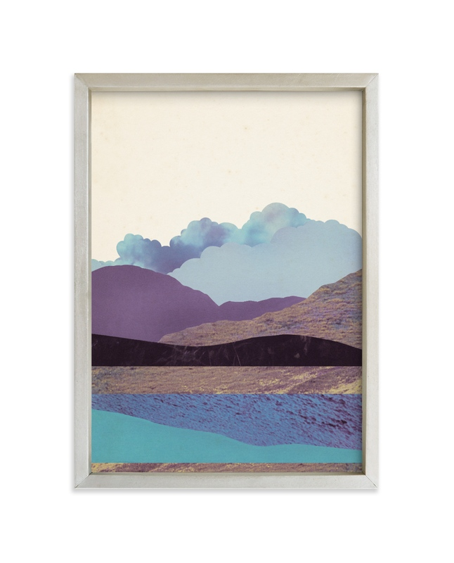 """""""Peaceful Valley"""" - Limited Edition Art Print by Field and Sky in beautiful frame options and a variety of sizes."""