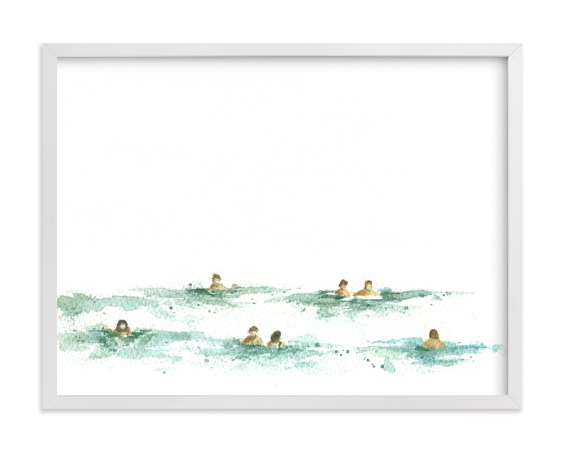 """Last summer"" - Limited Edition Art Print by Lulaloo in beautiful frame options and a variety of sizes."