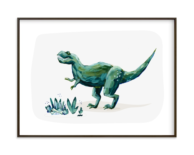 Terrific T-Rex Children's Art Print