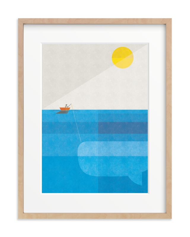 Deep Sea Voyage Children's Art Print