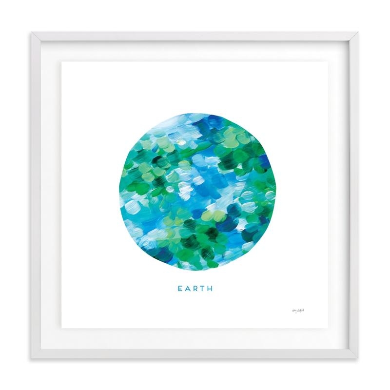 Painted Earth Children's Art Print