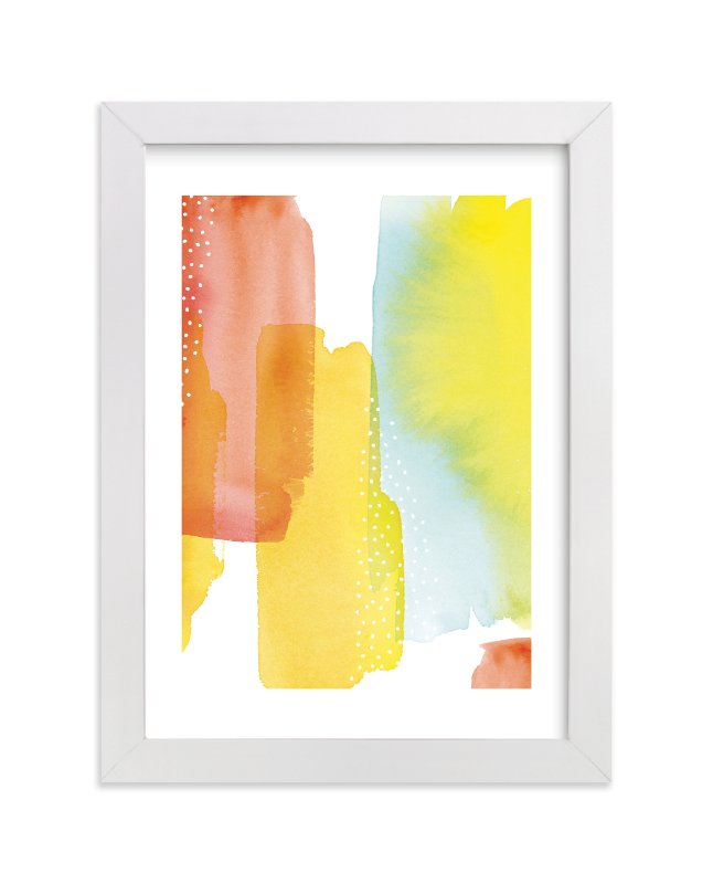 """""""Modern Sunset"""" - Limited Edition Art Print by sue prue in beautiful frame options and a variety of sizes."""