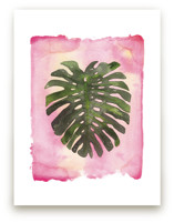 Pink Palm by Kelsey McNatt