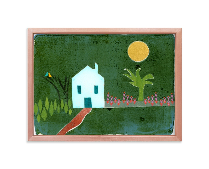 """Idyllic"" - Limited Edition Art Print by Bethania Lima in beautiful frame options and a variety of sizes."