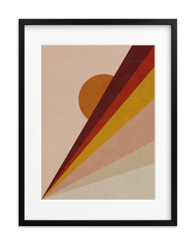 Abstract Sunrise Children's Art Print