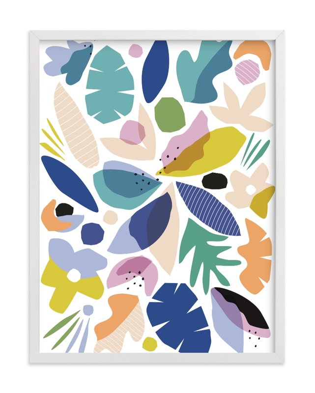 """botanical burst"" - Limited Edition Art Print by Kate Ahn in beautiful frame options and a variety of sizes."