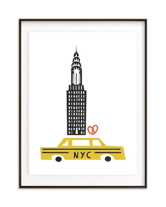 NYC Children's Art Print