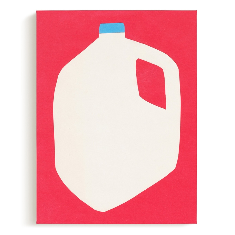 Two Percent Milk Children's Art Print
