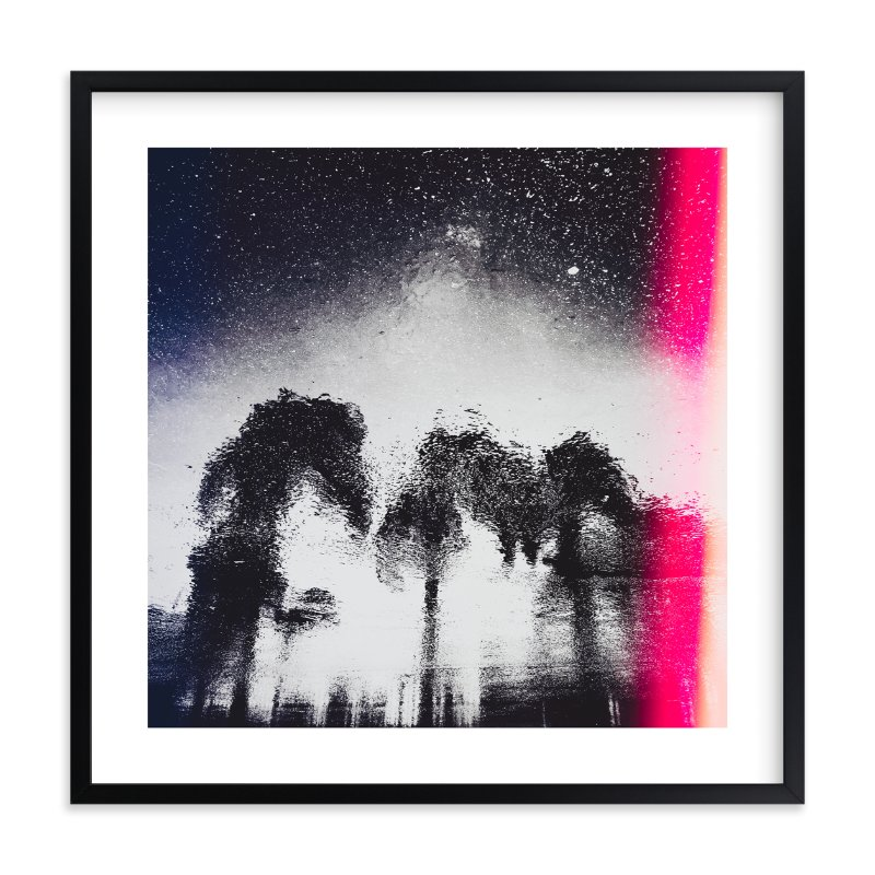 """Asphalt Palms"" - Limited Edition Art Print by Kamala Nahas in beautiful frame options and a variety of sizes."
