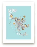 Blossom Birds by Acadreamia Designs