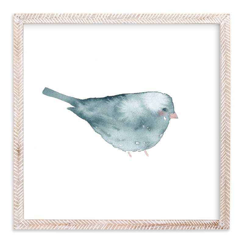 Blushing Bird 2 Children's Art Print