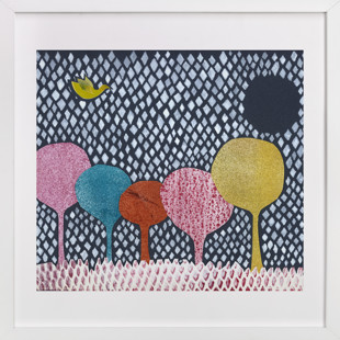 Diamond Forest Children's Art Print