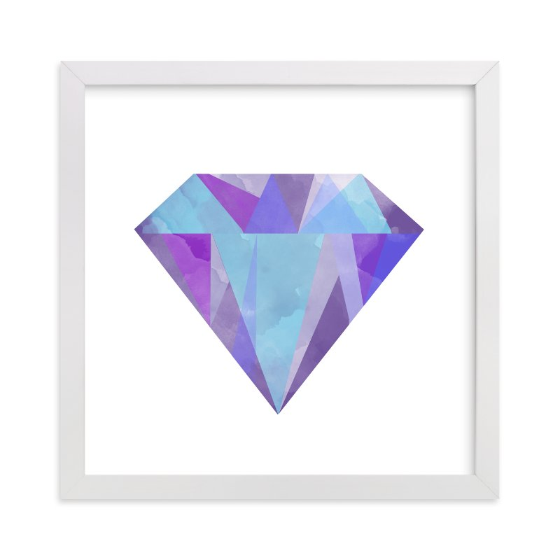 """""""Gemstone"""" - Limited Edition Art Print by Refound Nostalgia in beautiful frame options and a variety of sizes."""