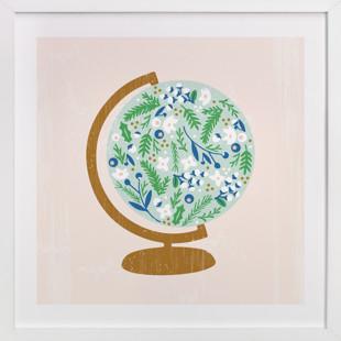 Global Flor Children's Art Print