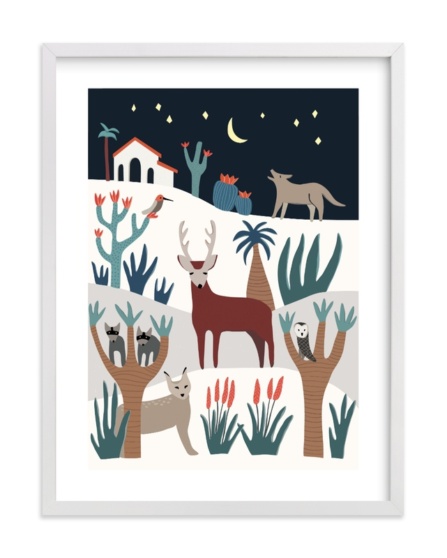"""""""It's a wild life!"""" - Limited Edition Art Print by Sophiequi in beautiful frame options and a variety of sizes."""