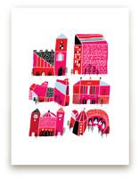 Little Buildings by Elliot Stokes