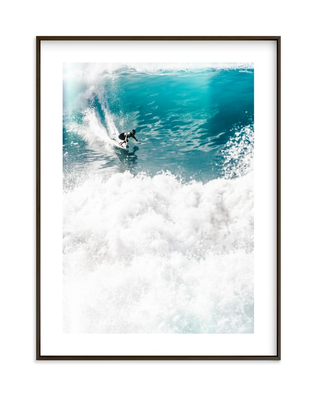 """""""SoCal Crush"""" - Limited Edition Art Print by Kamala Nahas in beautiful frame options and a variety of sizes."""