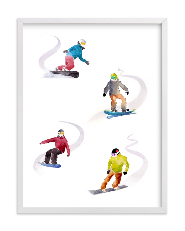 The Boarders Children's Art Print