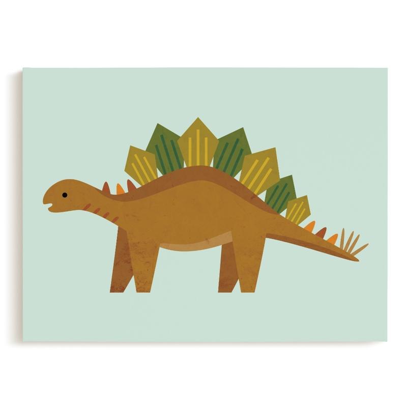 Stegosaurus Children's Art Print