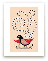 Dotted Bird by Morgan Ramberg