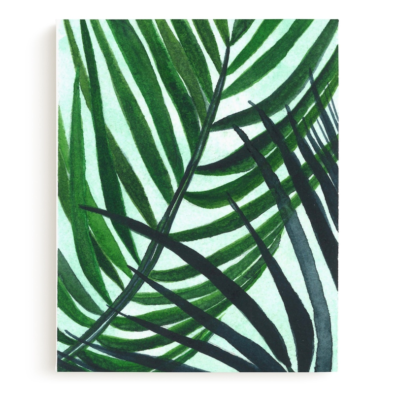 Crossed Palms Children's Art Print