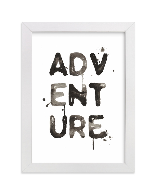 """""""Adventure"""" - Limited Edition Art Print by Kelsey McNatt in beautiful frame options and a variety of sizes."""