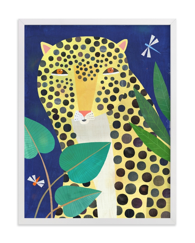 Jungle Leopard Children's Art Print