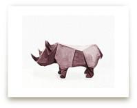 Paper Animals: Rhinocer... by Maja Cunningham