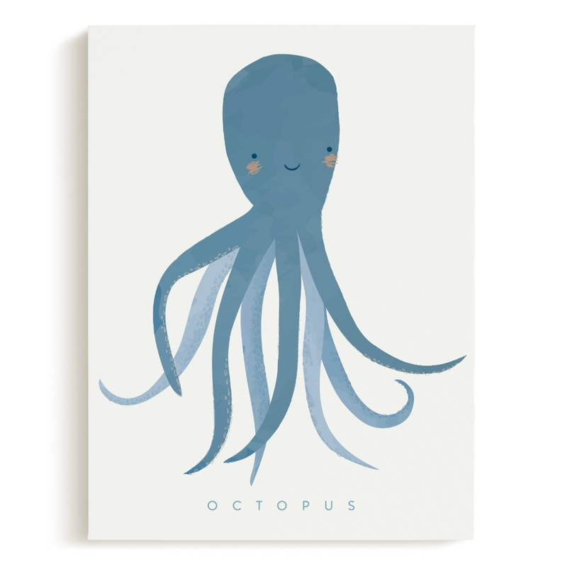 octopus tentacles Children's Art Print