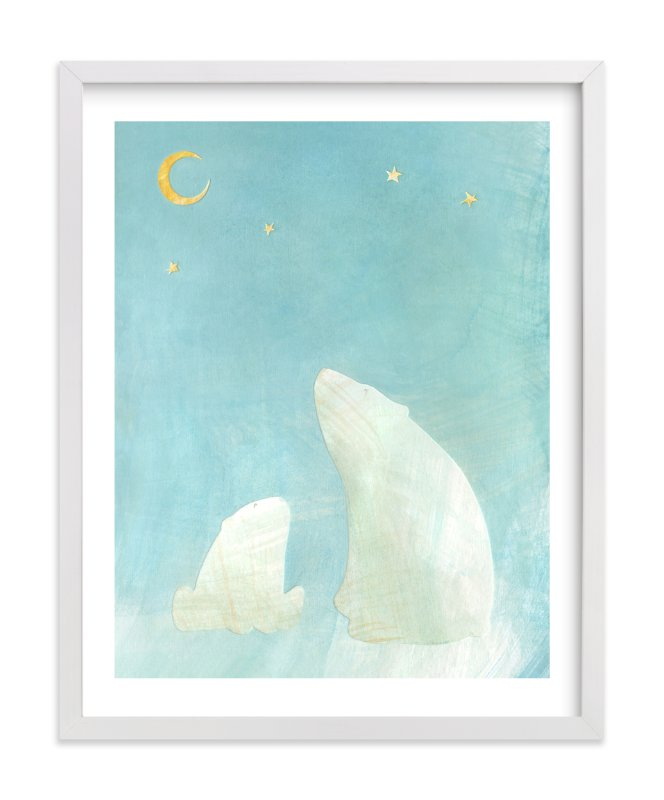 """""""Wonder"""" - Limited Edition Art Print by Amelie Conger in beautiful frame options and a variety of sizes."""