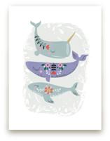 Folk Whales by Hannah Williams