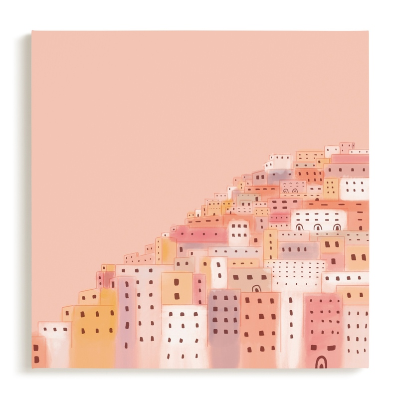 Positano Houses Children's Art Print