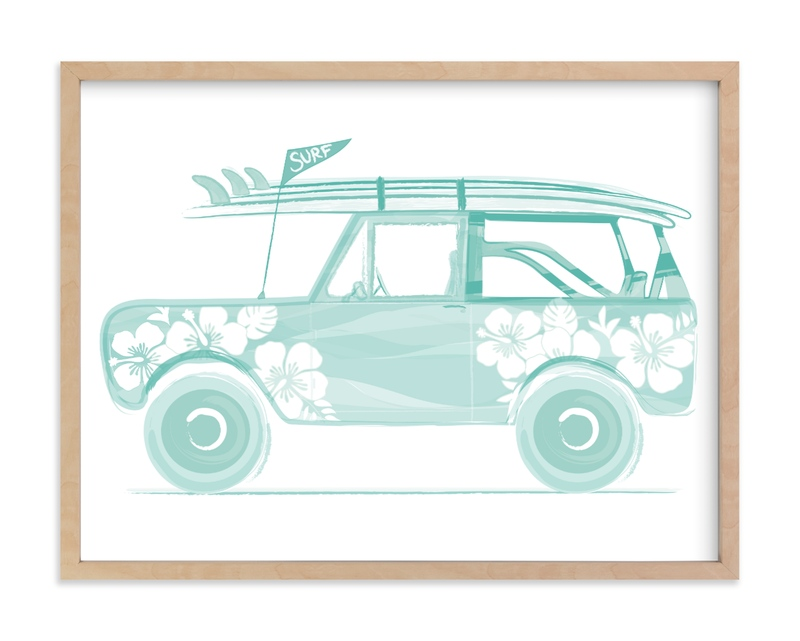 """""""Beaching 1"""" - Limited Edition Art Print by Rebecca Marchese in beautiful frame options and a variety of sizes."""
