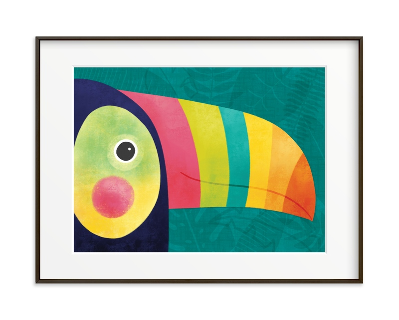 Here's Looking At You Children's Art Print